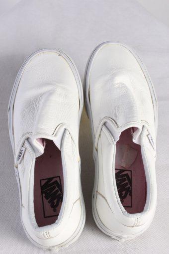 Vintage Vans Trainer Sports Clasical Shoes Unisex US 6,5 White S682-115068