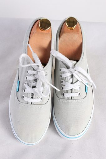 Vintage Vans Trainer Sports Shoes Unisex UK 5,5 Grey