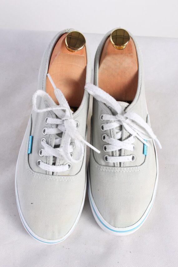 Vintage Vans Trainer Sports Shoes Unisex UK 5,5 Grey S738-0