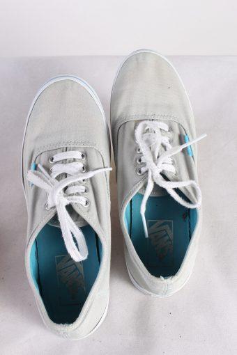 Vintage Vans Trainer Sports Shoes Unisex UK 5,5 Grey S738-116251