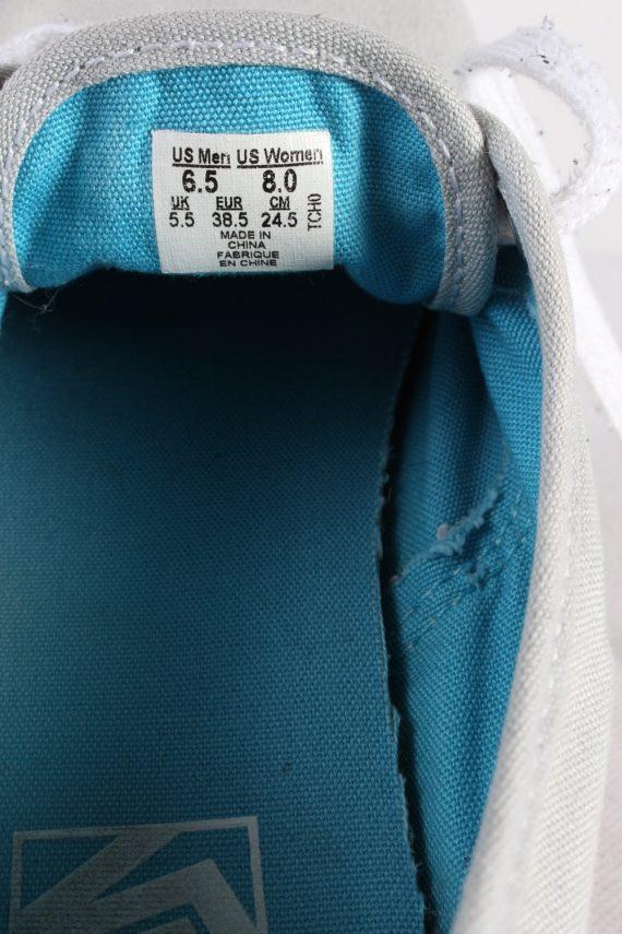 Vintage Vans Trainer Sports Shoes Unisex UK 5,5 Grey S738-116253