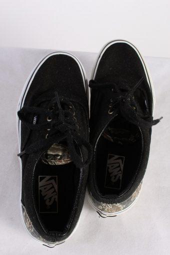 Vintage Vans Classical Trainer Sport Casual Shoes Unisex UK 6 Black S745-116279