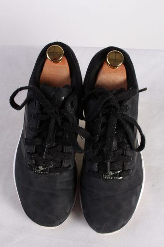 Vintage Adidas Torsion Sneakers Training Running Shoes Unisex UK 5 Black