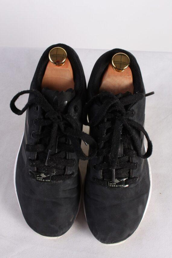 Vintage Adidas Torsion Sneakers Training Running Shoes Unisex UK 5 Black S750-0