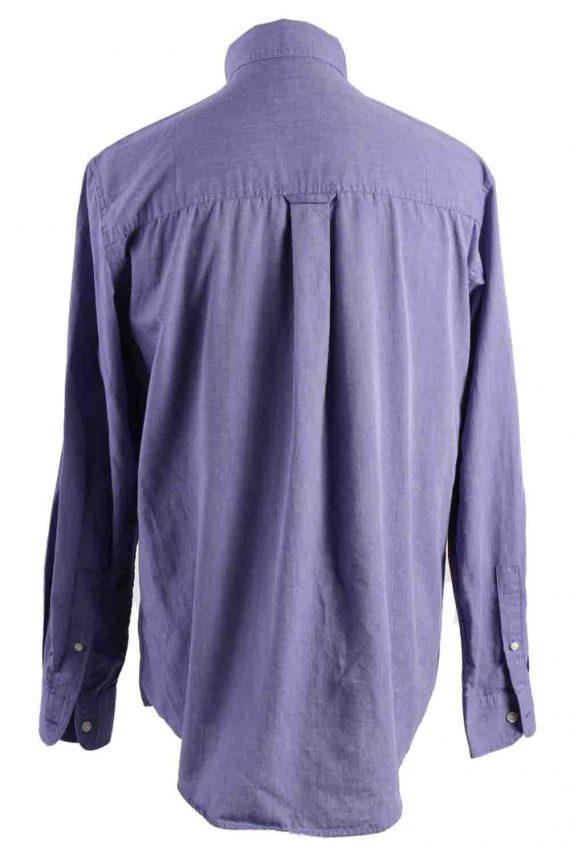 Vintage Mens Chaps Long Sleeve Shirts M Purple SH3904-115157