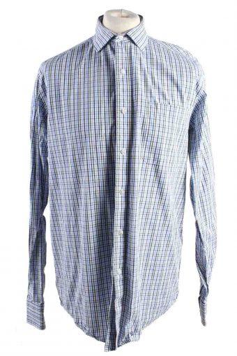Mens Tommy Hilfiger Regular Fit Checke Long Sleeve Shirts Multi L