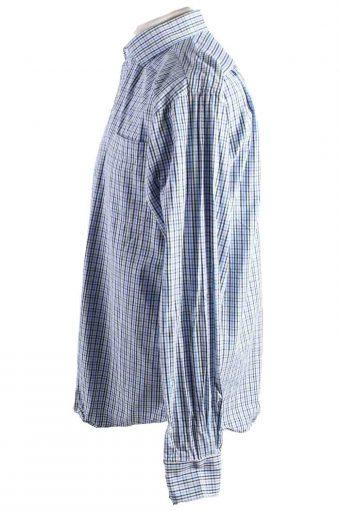 Vintage Mens Tommy Hilfiger Regular Fit Checkered Long Sleeve Shirts L Multi SH3909-115176
