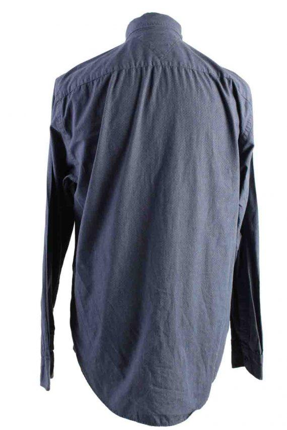 Vintage Mens Tommy Hilfiger New York Fit Cotton Long Sleeve Shirts L Grey SH3910-115181