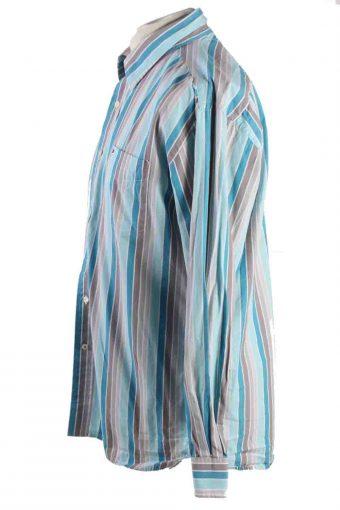Vintage Mens Tommy Hilfiger Stripe Long Sleeve Shirts L Multi SH3915-115200