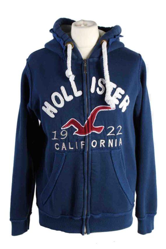 Vintage Hollister Hoddies Tracksuits Top M Navy -SW2356-0