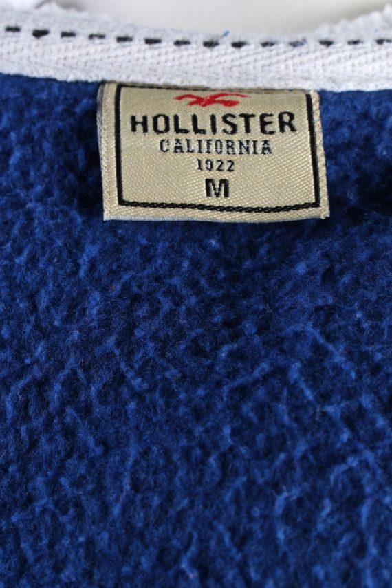 Vintage Hollister Hoddies Tracksuits Top M Navy -SW2356-115788