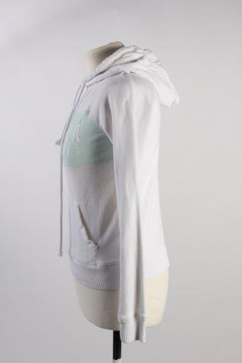Vintage Hollister Hoddies Tracksuits Top XS White -SW2360-115802