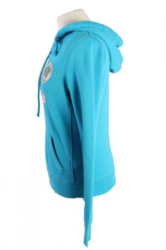 Vintage Hollister Hoddies Tracksuits Top M Turquoise -SW2364-115818