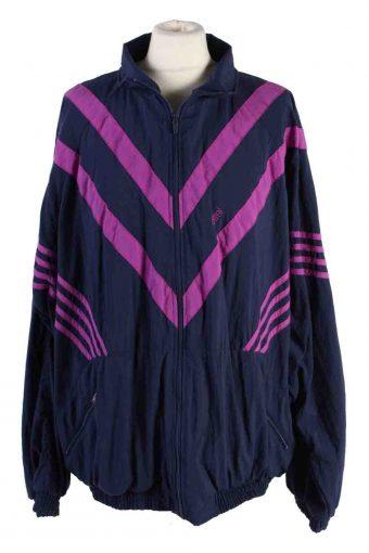 Tracksuit Set Shell Etirel Sportswear High Neck Navy Blue XL