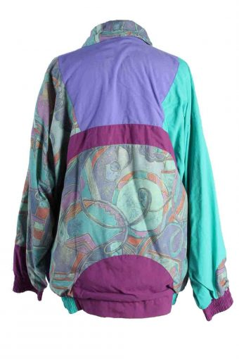 Vintage Unisex Tracksuits Set Sportswear Top Bottom L/XL Multi -SW2380-115900
