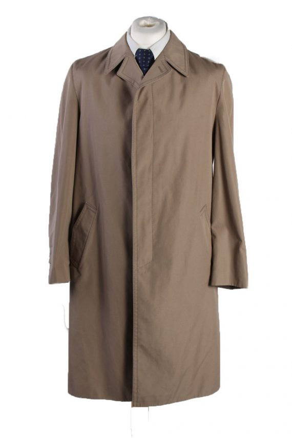 Vintage Classic Trench Coat Chest 45 Taupe -C1535-0