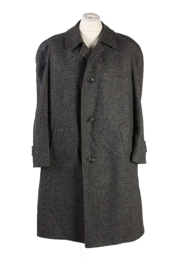 Vintage Kynoch Wool Classic Coat Chest 50 inches Grey -C1551-0
