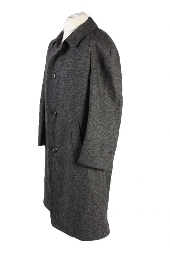Vintage Kynoch Wool Classic Coat Chest 50 inches Grey -C1551-116818