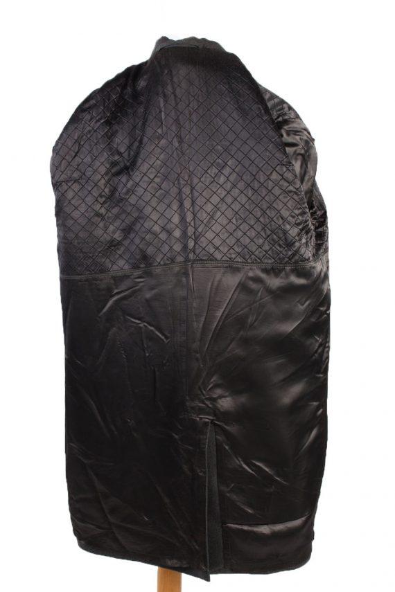 Vintage Reine Wolle Classic Jacket Coat Chest 49 Grey -C1561-116940