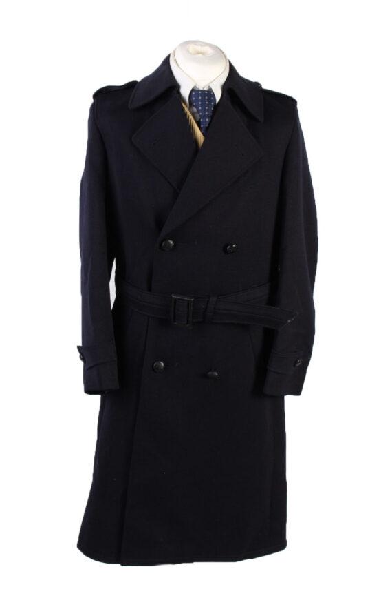 Vintage Modo Gefolo Classic Jacket Coat Chest 40 Dark Blue -C1567-0