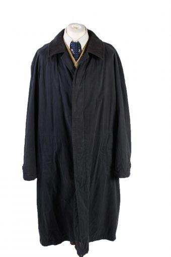 Vintage Hugo Boss Classic Jacket Coat Chest 52 Dark Blue
