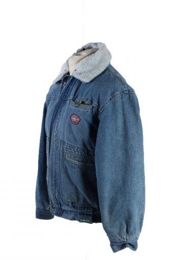 Vintage Ritt Blue Jeans Denim Jacket Sherpa S Blue -DJ1524-116736