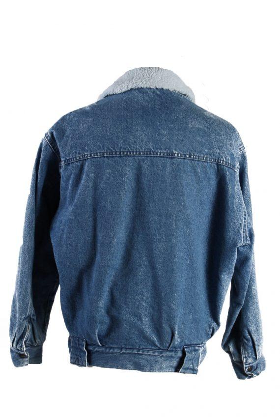Vintage Ritt Blue Jeans Denim Jacket Sherpa S Blue -DJ1524-116737