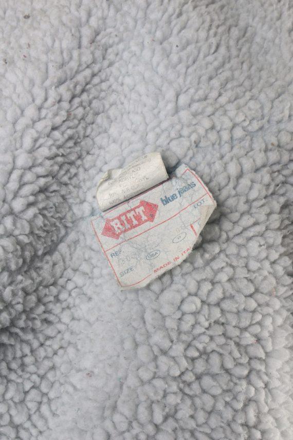 Vintage Ritt Blue Jeans Denim Jacket Sherpa S Blue -DJ1524-116739
