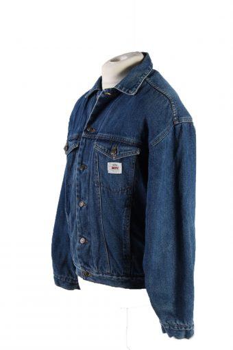 Vintage MFC Denim Jacket Sherpa S Blue -DJ1525-116741