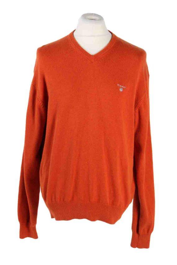 Vintage Gant Sweater Pullover XL Orange -IL1765-0