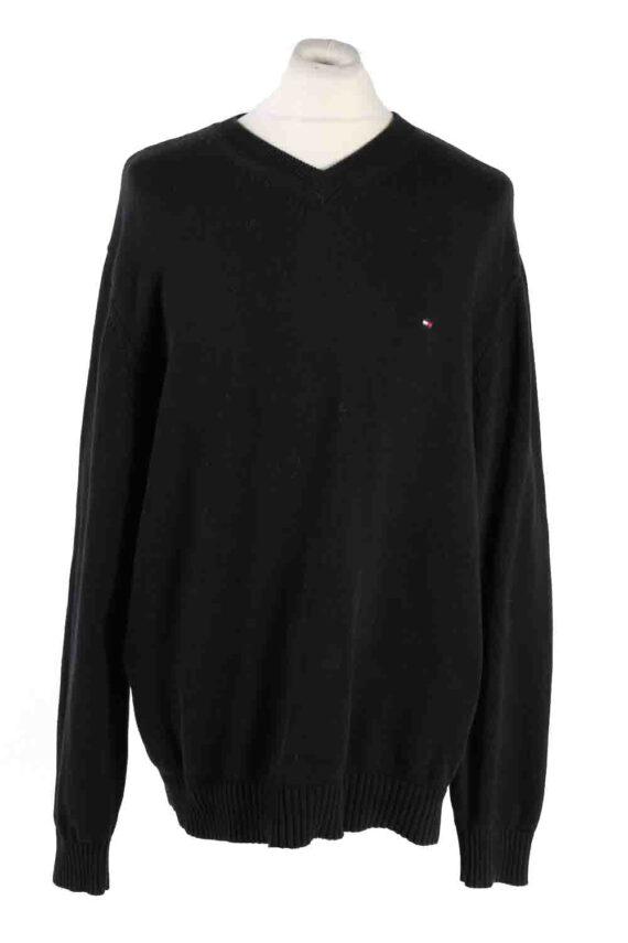 Vintage Tommy Hilfiger Sweater Pullover XXL Black -IL1773-0
