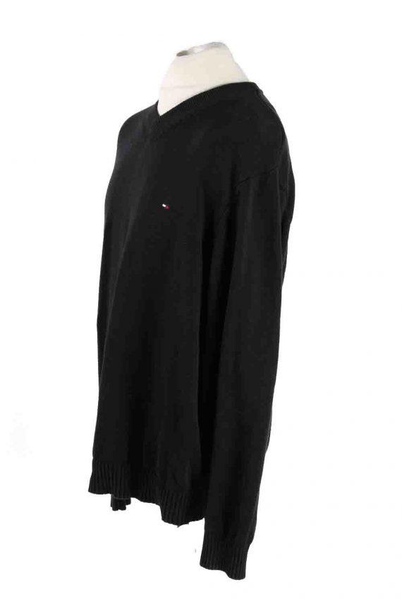 Vintage Tommy Hilfiger Sweater Pullover XXL Black -IL1773-116867