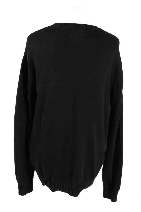Vintage Tommy Hilfiger Sweater Pullover XXL Black -IL1773-116868
