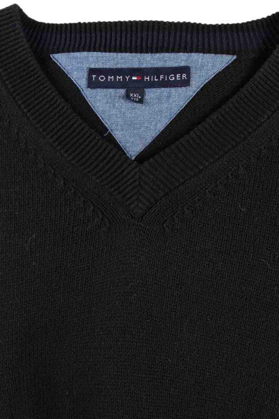 Vintage Tommy Hilfiger Sweater Pullover XXL Black -IL1773-116869