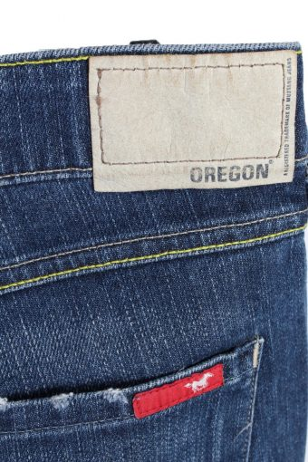 Vintage Mustang Girls Oreogon Mid Rise Flare Leg Womens Jeans J4420-116655