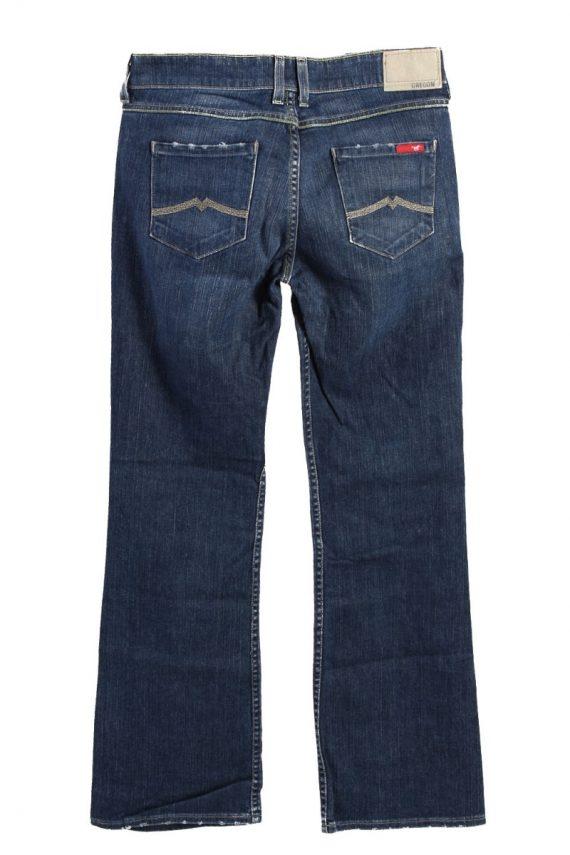 Vintage Mustang Girls Oreogon Mid Rise Flare Leg Womens Jeans J4420-116656