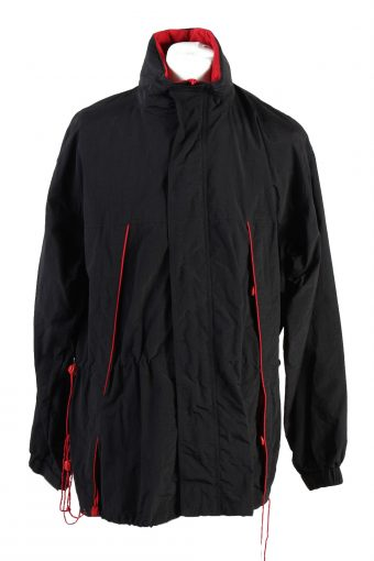 Vintage Marlboro Winter Jacket Black