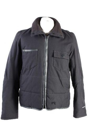 Vintage G Star Winter Puffer Coat M Grey