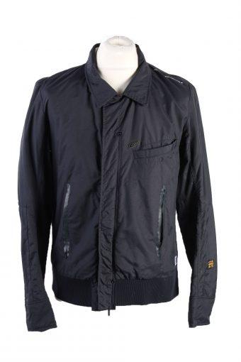 Vintage G Star Winter Jacket L Dark Blue