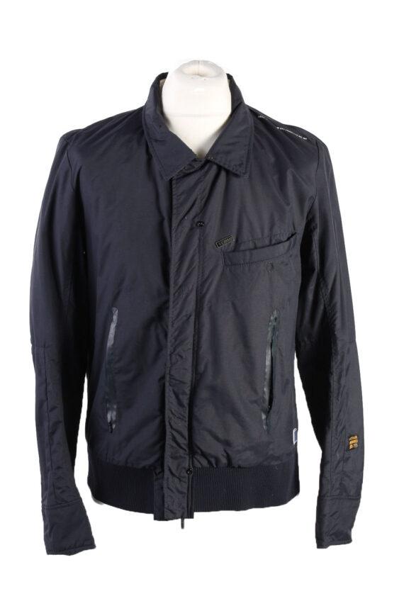 Vintage G Star Winter Jacket L Dark Blue -C1573-0