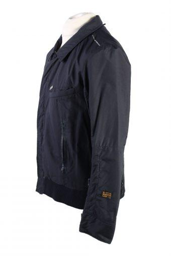 Vintage G Star Winter Jacket L Dark Blue -C1573-117044