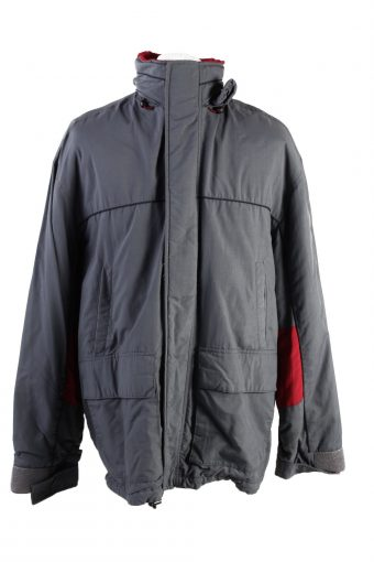 Vintage Levi's Winter Puffer Coat L Grey