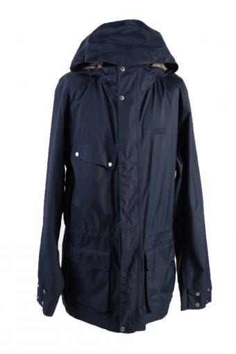Vintage Jack Wolfskin Winter Puffer Coat Dark Blue