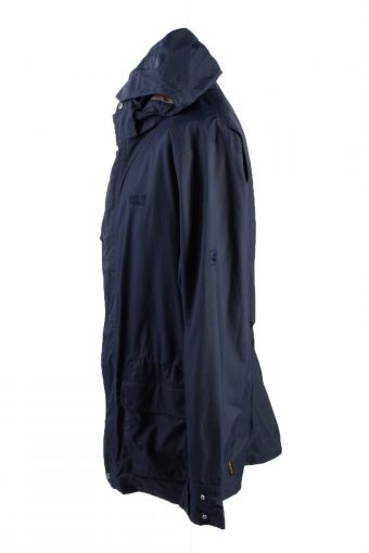 Vintage Jack Wolfskin Winter Puffer Coat Dark Blue -C1579-117068