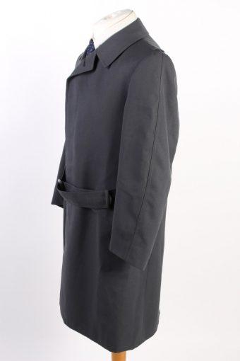 Vintage Classic Trench Coat Chest 42 Dark Grey -C1593-117192