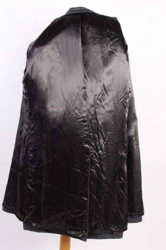 Vintage Classic Trench Coat Chest 42 Dark Grey -C1593-117194
