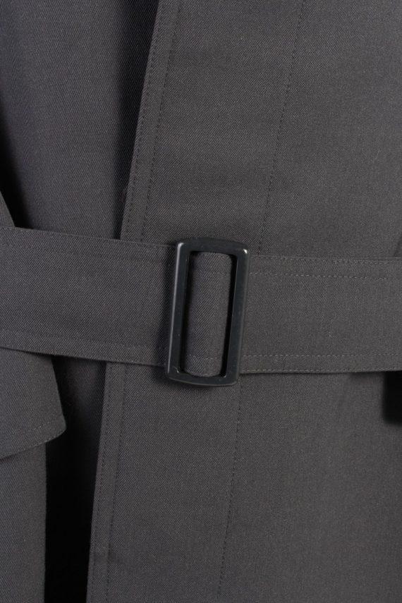 Vintage Classic Trench Coat Chest 42 Dark Grey -C1593-117195