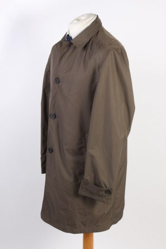 Vintage Feraud Classic Trench Coat Chest 46 Dark Brown -C1596-117167