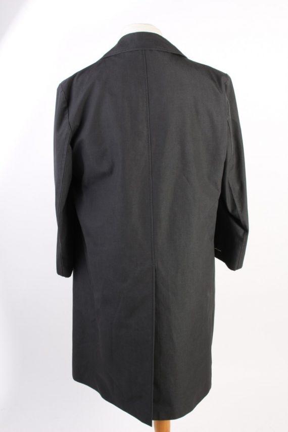 Vintage Pluie Sport Classic Trench Coat Chest 43 Dark Grey -C1600-117148