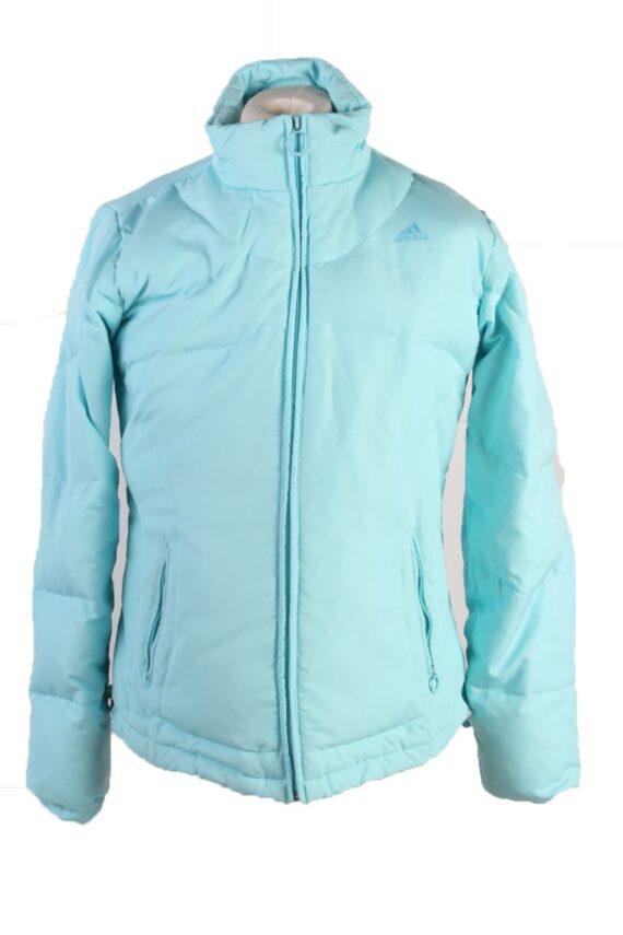 Vintage Adidas Winter Puffer Coat 14 Turquoise -C1603-0
